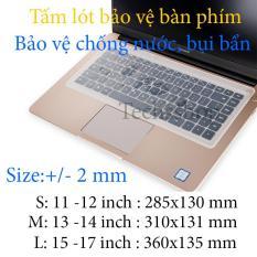 Miếng lót bàn phím cơ bản – Chống bụi bẩn, Chống nước – Trong suốt 11 inch – 12 inch – 13 inch – 14 inch – 15 inch -17 Inch