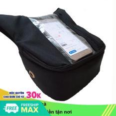 Túi treo đầu xe máy đứng Sunha chuyên dụng dành cho xe ôm công nghệ phiên bản mới, để điện thoại đứng dễ xem, vải bố xem điện thoại đứng CHOTO CT1139