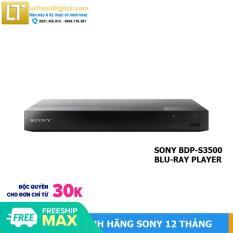 Đầu đĩa Bluray Sony BDP-S3500 – Hãng phân phối – Bảo hành 12 tháng