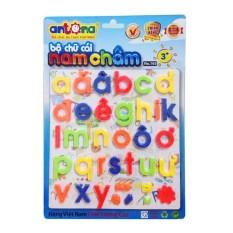 Bộ chữ cái nam châm chữ thường Tiếng Việt Tiếng Anh Antona
