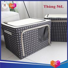 Thùng vải đựng đồ không thấm nước Posa thể tích 56L