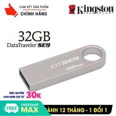 (Tặng OTG) USB 32GB KINGSTON siêu nhỏ chống sốc chống nước, thiết kế vỏ nhôm nhỏ gọn, bảo hành 12 tháng lỗi 1 đổi 1