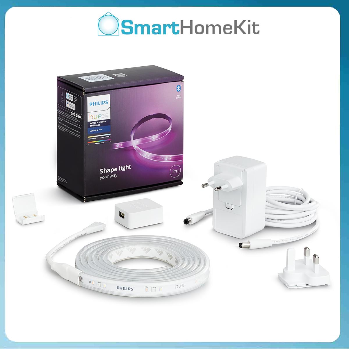 Philips Hue Lightstrip Base Pack 2 mét – Đèn LED dây thông minh 16 triệu màu – Bảo hành 2 Năm – Homekit