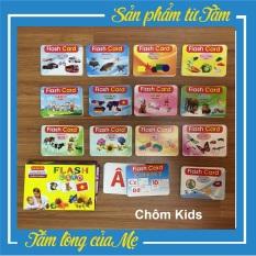 Thẻ Học Thông Minh Song Ngữ Anh-Việt Theo Phương Pháp Glenn Doman – Bộ 15 Chủ Đề [Tách Thẻ]