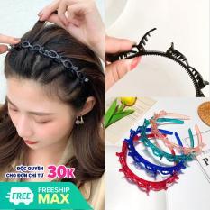 1 Cài tóc có kẹp tạo kiểu tóc xinh xắn – trơn M28 nhiều màu phong cách Hàn Quốc Phụ kiện 68 (ngẫu nhiên)