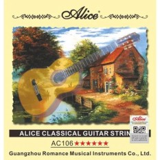 Bộ 6 Dây Nilon Guitar Classic Alice A106