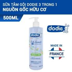 Sữa Tắm Cho Bé Nguyên Liệu Hữu Cơ Dodie 3 Trong 1 – 500ML