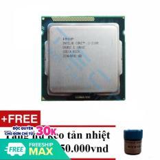 Bộ vi xử lý Intel Core i3 2100 3.1GHz(2 lõi, 4 luồng), Bus 1066/1333MHz, Cache 3MB – Tặng Keo Tản Nhiệt.