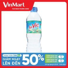 [Siêu thị VinMart] – Nước khoáng thiên nhiên Lavie chai 500ml