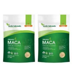 Bộ 2 gói bột Maca Nguồn Thiên Nhiên Organic Gelatinized 200g x 2