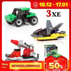 Combo Đồ Chơi Trẻ Em 3 Xe Ô Tô Xếp Hình Lego City Từ 27 Đến 32 Chi Tiết Nhựa Abs Cao Cấp Cho Bé Từ 4 Tuổi Trở Lên Phát Triển Trí Tuệ Và Sáng Tạo