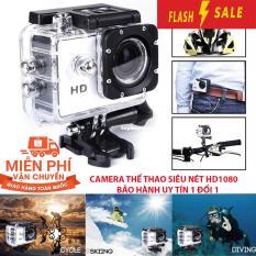 Cách xem lại camera hành trình, Tac dung cua camera hanh trinh, Camera hành trình Sports với nhiều chế độ quay phim, chụp hình, hình ảnh sắc nét, Bảo hành uy tín 1 đổi 1, M306