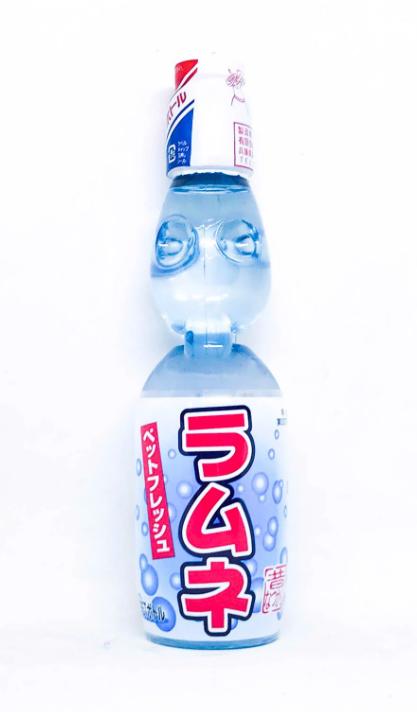 Nước giải khát Ramune Clear vị Chanh Original 230ml – Nội địa Nhật