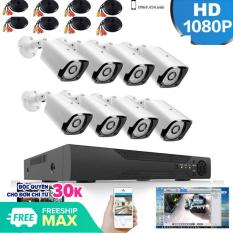 Bộ Kit 8 Kênh Camera AHD 2.0Mp Full HD – Trọn Bộ Camera AHD 8 Kênh + Ổ Cứng 500GB
