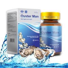 Tinh Chất Hàu Oyster Man – Hộp 30 Viên Tăng Cường Sinh Lý Nam Giới, Bổ Sung Kẽm Và Khoáng Chất