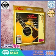 Bộ 6 dây đàn guitar acoustic Alice AW432 âm thanh tự nhiên và chân thật có độ bền cao dễ dàng sử dụng – Duy Guitar Store Phụ kiện đàn guitar giá tốt