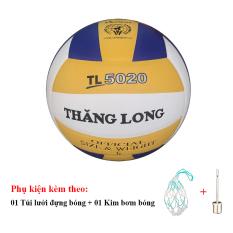 Bóng Chuyền Thăng Long 5020 + Túi Lưới Đựng Bóng + Kim Bơm Bóng