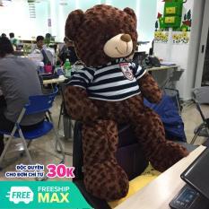 Gấu Bông Teddy Khổ vải 1m cao 80cm – Quà tặng dễ thương
