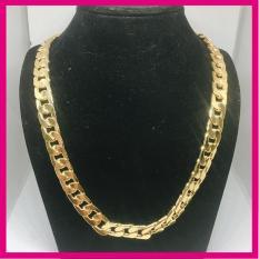 Dây Chuyền Vip Bạc Thái Mạ Vàng 18k Không rỉ, không bay màu, Vòng Cổ Nam Phong Cách, Dây chuyền nam bạc Thái phong cách MS001 Jewelry Bảo Tín ( Màu Vàng)