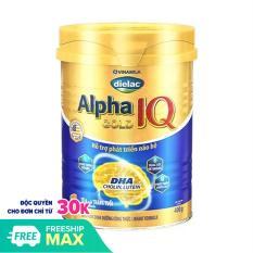 Sữa Bột Dielac Alpha Gold 1 Lon 900g – Dành cho be 0-6 tháng tuổi – HSD luôn mới