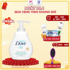 Sữa tắm gội toàn thân Baby Dove Cho Da Nhạy Cảm 200 ml