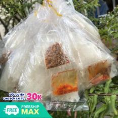 Sỉ 13 bịch bánh tráng Sa Tế muối tôm Tây Ninh (Bánh tráng cắt sợi)