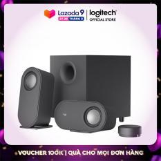 Loa vi tính bluetooth Logitech Z407 – Âm thanh 2.1, công suất 80W, điều khiển không dây, đa kết nối (USB, AUX, Bluetooth)