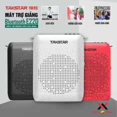 Takstar E220 loa mic Máy trợ giảng có dây, Không dây, Bluetooth, ghi âm, nghe nhạc, FM, hướng dẫn viên, Giáo viên,bán hàng