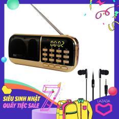 Đài Radio MP3 USB, máy nghe nhạc cầm tay Walkman – B871 + Tặng Tai Nghe Nhét Tai Cao Cấp
