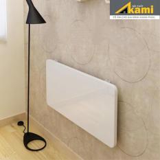 Bàn gấp treo tường 40x80cm màu trắng bản lề 45kg