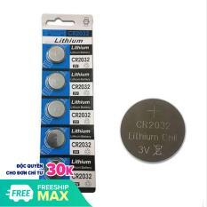[Combo vỉ 5 viên] Pin CMOS CR2032 Lithium 3V dùng cho các thiết bị điện tử, mainboard bo mạch máy tính, cân điện tử, remote điều khiển gậy tự sướng