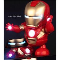 Đồ Chơi Robot – Người Máy Nhảy Múa Iron Man (Quà Tặng Đáng Yêu Cho Bé)