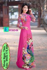 Vải may bộ / áo dài in 3D – E 9913