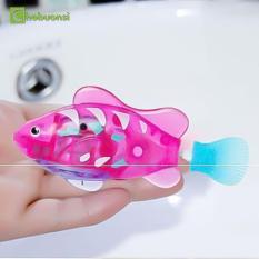 Đồ chơi cá cảnh chạy pin có đèn Robo Fish