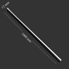 Thanh Inox 201 không bị rỉ sét đường kính 12mm dài 1000mm dùng trong cơ cấu chuyển động thẳng hướng, trượt CNC