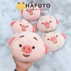 Gấu bông Hafuto | Gối tròn đầu heo tik tok quà tặng cho bạn gái | do choi tre em