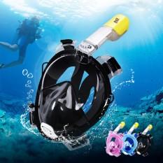 Mặt nạ lặn ống thở. Mặt nạ full face. Mặt nạ bơi lặn cao cấp size L/XL. Đem lại cảm giác tuyệt vời khi ở dưới nước
