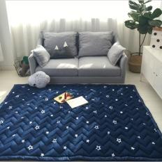 Thảm chơi Cao cấp đa năng cho bé, Cotton dày 25mm, Xuất khẩu Hàn Quốc, Model 2019 – Size 1,5 x 2 m