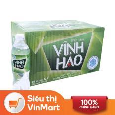 [Siêu thị VinMart] – Thùng 24 chai nước khoáng Vĩnh Hảo có ga 500ml
