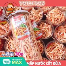 300gram Mực xé hấp nước cốt dừa loại 1 Yotafood