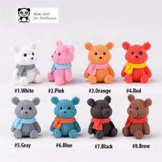 02 Chú gấu nhiều màu sắc minidoll
