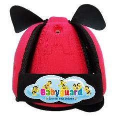 Mũ Bảo Vệ Đầu Cho Bé BabyGuard (màu hồng)