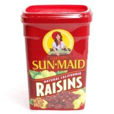 Nho khô không hạt Sun Maid Natural California Raisins 500gr Mỹ