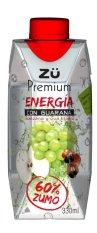 Nước tăng lực hỗn hợp từ trái cây Zu-Energia 330ml