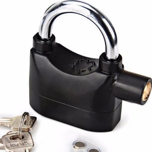 Ổ khóa báo động chống trộm Siren Lock (Đen)