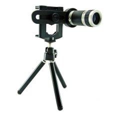 Ống kính đa năng 8x cho điện thoại Cho deal 24h MobiTele 2 (Đen)