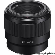 Ống kính Máy ảnh Sony FE 50mm f/1.8 (Đen)