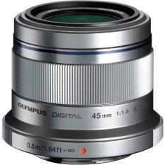 Ống kính Olympus M. Zuiko ED 45mm f/1.8 (Bạc)