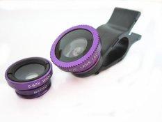 Ống Lens Chụp Hình 3 in 1 (Tím)
