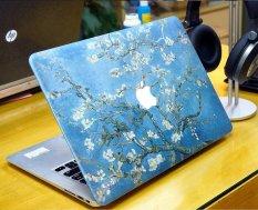 Ốp Macbook hoa đào tuyệt đẹp -C002 15 Pro Retina